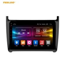 Feeldo 9 дюймов Android 6.0 (64bit) восьмиядерный DDR3 2 г/32 г/FDD 4 г автомобильный DVD GPS Радио головное устройство для Volkswagen мужские поло 2012-2016