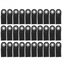 30 pcs 34mm Oscillating Saw Blades High carbon Steel Multifunctional blades Oscillating MultiTool for Repairing Cutting