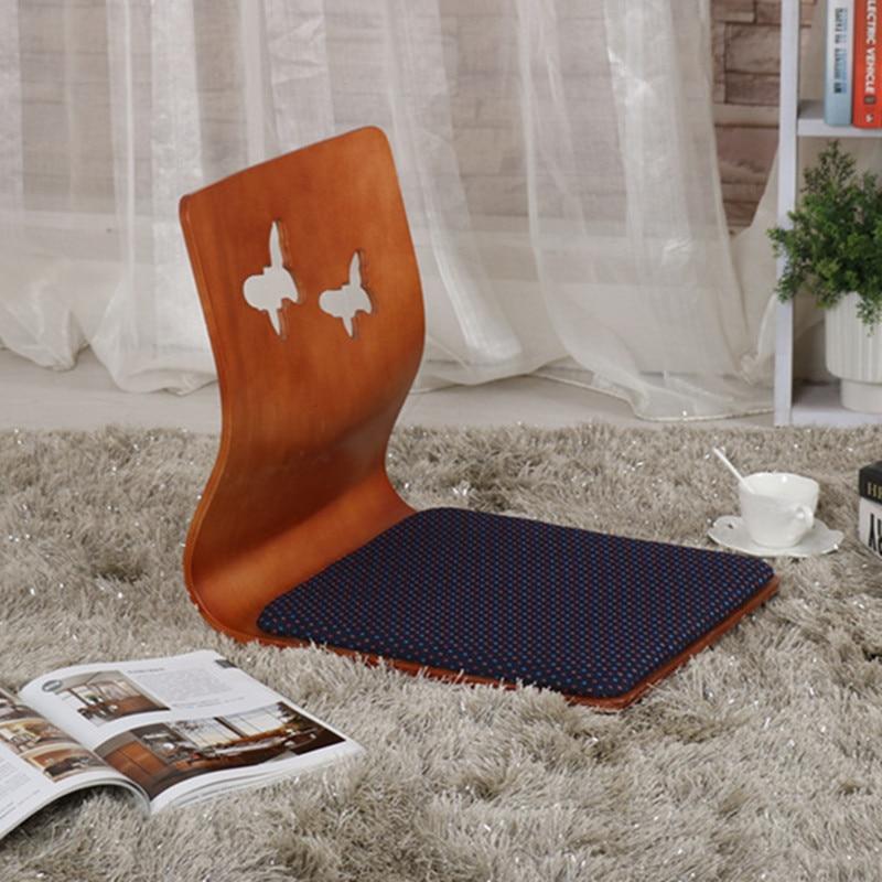 4pcs/lot Wholesale Furniture Japanese Tatami Chair Seat Cushion Included 3 Color Living Room Zaisu Floor Legless Chair Design