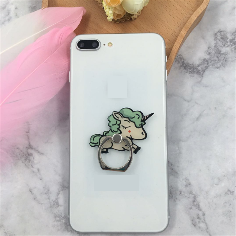 Uvr Unicorn Mobile Phone Stand Holder Unicorn Finger Ring Mobile Smartphone Holder Stand For Iphone Xiaomi Huawei All Phone Mobile Phone Accessories