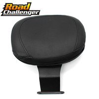 Motorcycle Driver Rider Sissy Bar Backrest Seat Back Rest for Honda Shadow VT400 VT750