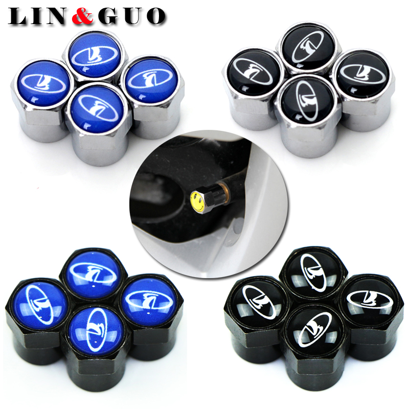 4pcs Car Wheel Tire Valves Tyre Air Caps case for lada niva kalina priora granta largus vaz samara 2110 Motorcycle Automobiles