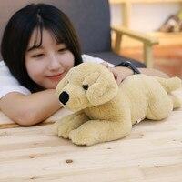 1pc 40cm Cute Labrador Dog Plush Toys Stuffed Animal French Bulldog Doll Kawaii Kids Baby Toy