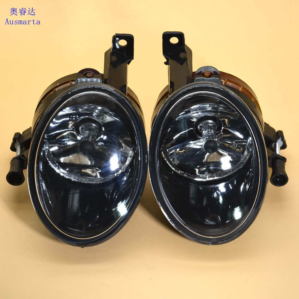 OEM 2 Pcs Left & right halogen front fog lamp For VW CADDY Jetta 6 Golf MK6 Eos Touran Tiguan 5KD941699  5KD941700 tuke oem right front bumper fog lights for vw caddy jetta 6 golf mk6 eos touran tiguan 5kd 941 700 5k0 941 700 5kd941700