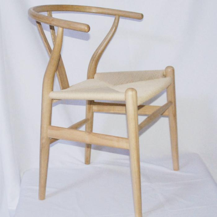 Nordic style dining chair New Chinese casual solid wood Y chair Western restaurant coffee shop back armchair - Цвет: style 3