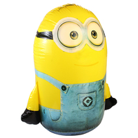 Minion balloons cartoon birthday decoration wedding party 100cm large size Classic toys inflatable Tumbler air balloons