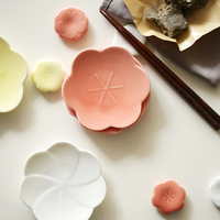 Made In Japan di figura Del Fiore di ceramica Creativa piatti piatti di porcellana da tavola piatto piatto piccolo noci spuntino piatto da dessert di frutta