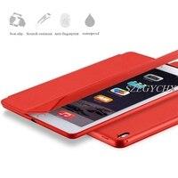 SZEGYCHX Original 1 1 Ultra Slim Smart Case Cover For IPad 234 Air1 Mini 4 PU
