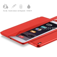 SZEGYCHX Original 1 1 Ultra Slim Smart Case Cover For IPad 234 Air1 Mini 4 PU