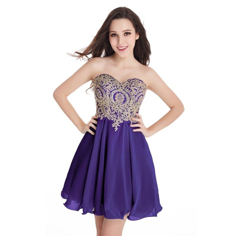 Vestido de festa Curto Borgoña mini corto Vestidos de cóctel 2018 ...