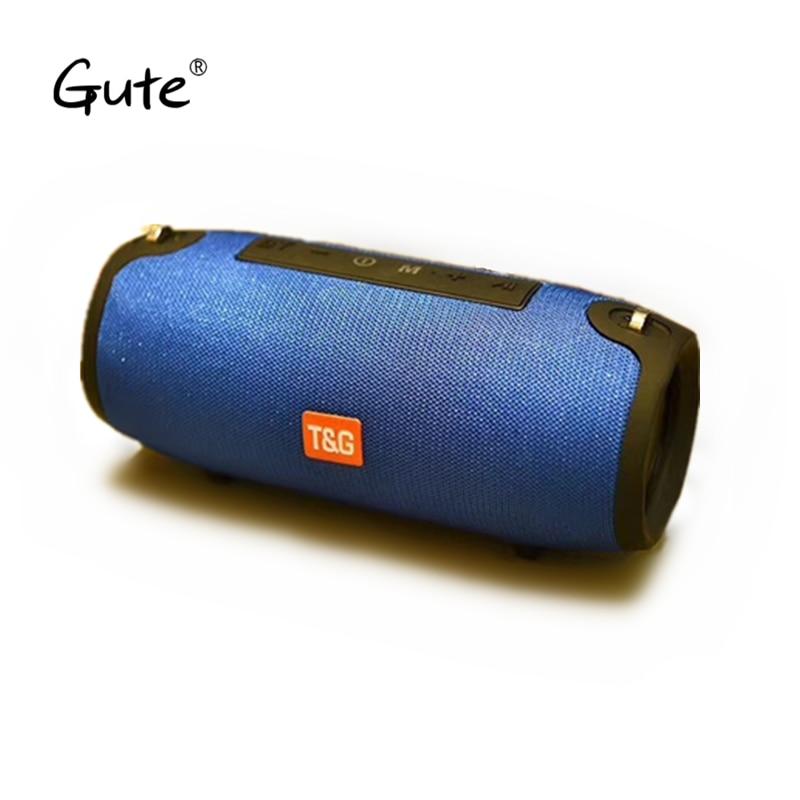 Gute fabric portable belt woofer bass IPX5 waterproof Radio FM portable parlante bluetooth portatil altavoz ducha caixa de som