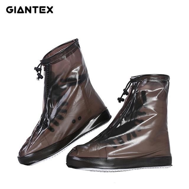 GIANTEX Degli Uomini delle Donne Da Pioggia Impermeabile Alla Caviglia Piatto St