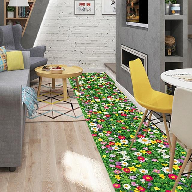 Creativo adesivi murali fiori 3d piano bagno impermeabile ...