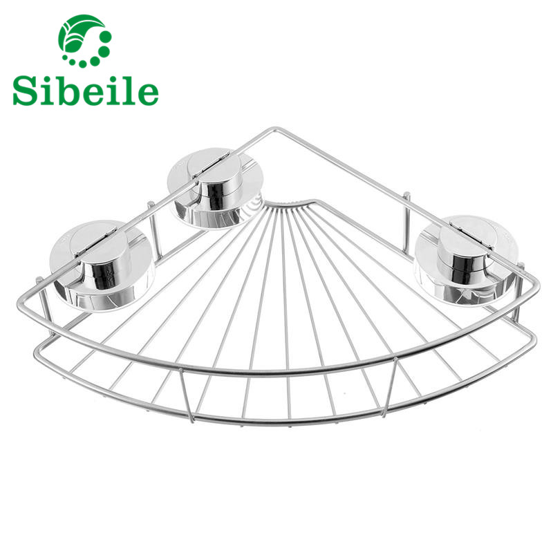 A Shelf 58 15c 5 Chrome Pull Out Basket: Aliexpress.com : Buy SBLE Silver Powerful Sucker Bathroom