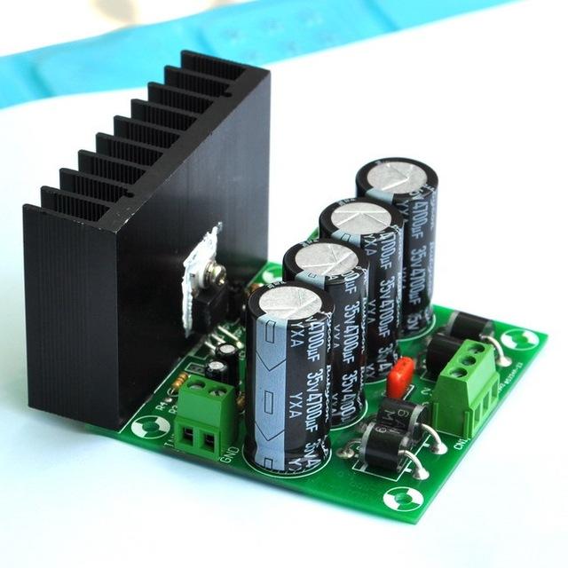 Mono 25 W Módulo Amplificador de Audio a Bordo, sobre la base de LM1875.