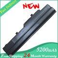 5200 mah batería Pour para MSI Wind U100 U110 U115 U130 U135 BTY-S11 BTY-S12 negro