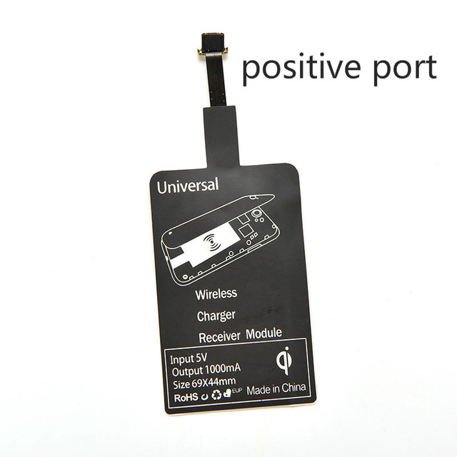Universal Qi Wireless Charger Receiver Charging Adapter Receptor Receiver Pad Coil Honor Micro USB mobile