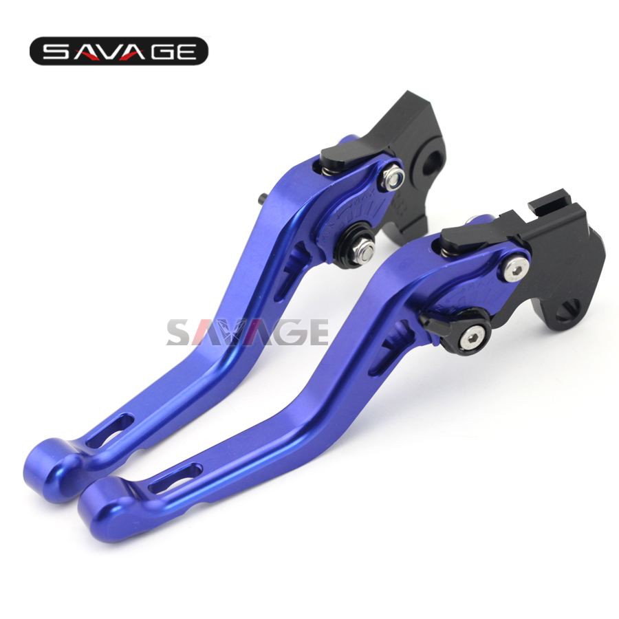 For YAMAHA YZF-R125 2012-2013/ WR125X 2009-2013 Motorcycle Accessories CNC Aluminum Adjustable Short Brake Clutch Levers Blue for yamaha bt1100 bulldog 2003 2004 motorcycle accessories cnc aluminum adjustable short brake clutch levers gold