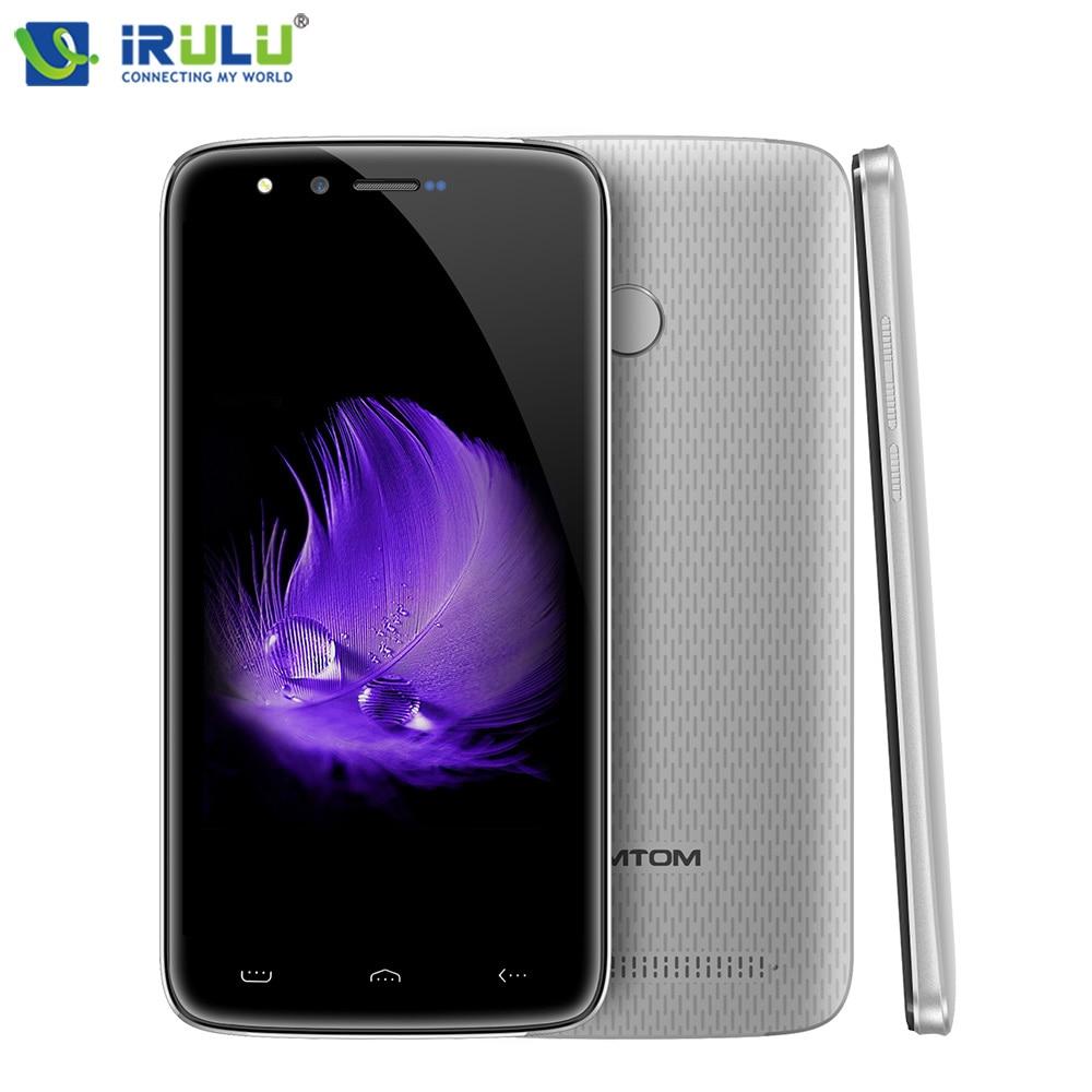 iRULU HOMTOM HT50 5 5 Android 7 0 Cellphones 3GB RAM 32GB ROM 4G LTE Fingerprint