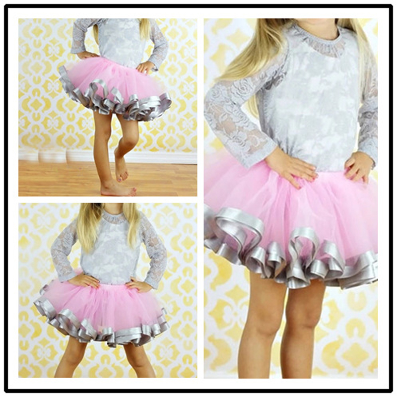 Hot-Girl-Tulle-Skirt-Ribbon-Trimmed-Tutu-Skirts-Fit-For-2-8years-ribbon-sewn-on-bottom-Pink-Girl-Dance-Party-Skirts-For-Girl-1