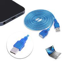Cable de extensión USB 1,5 m 2 m 3 m repetidor activo USB2.0 A macho A hembra USB2.0 AF  CABLE de CABLE AM para ordenador portátil PC 2019 nuevo