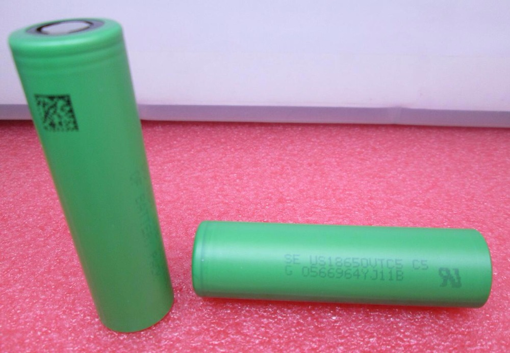 HOT NEW US18650VTC5 US 18650 VTC5 2600 mah high ratio power battery for electronic cigarettes can
