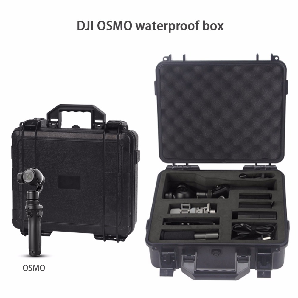 OSMO Case Storage Suitcase Waterproof Box Handheld Gimbal Package OSMO Mobile Carrying Case For DJI OSMO Accessories dji osmo family osmo osmo plus osmo mobile wich is your suitable choice
