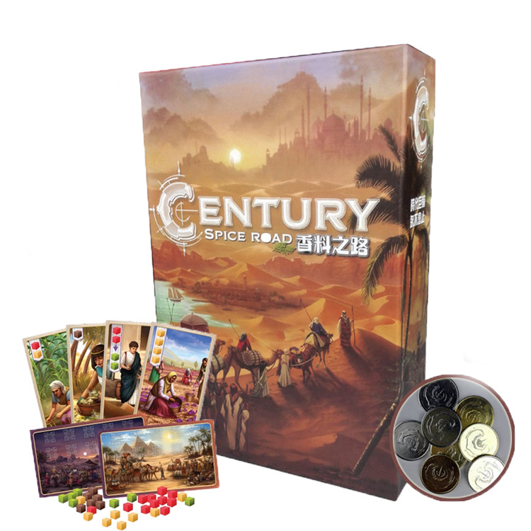 Century: Spice Road Board Game 2 4 Players Family/Party Best Gift for Children Simulated Game Indoor Entertainment