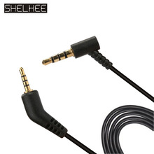 SHELKEE Replacement Headphone Audio Cable Cord Line for Bose Quiet Comfort3 QC3 With Mic Volume Control