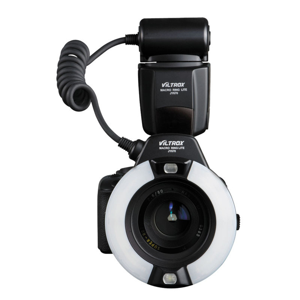 DSLR Camera photo LED Macro Ring Lite Flash Speedlite Light for Canon Nikon Pentax Olympus DSLR