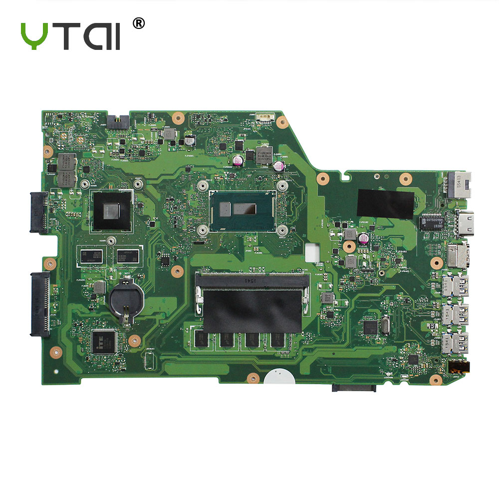 YTAI Original For ASUS X751L K751L K751LN X751LK X751LD F751LD REV 2.5 I7-5500U laptop notebook motherboard DDR3 HM86 x751ld motherboard rev 2 0 i7 4710 cpu 4gb ram for asus x751ln x751lj k751l x751ld laptop motherboard x751ld mainboard 100% ok