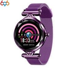 696 H1 Lady Smart Watch Fashion Women Heart Rate Monitor Fitness Tracker Smartwatch Bluetooth Waterproof Brace