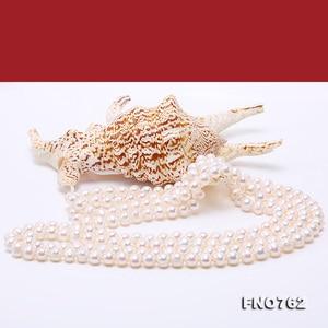 Image 5 - Ожерелье JYX из жемчуга на свитере, длинное круглое ожерелье из натурального пресноводного жемчуга 8 9 мм, ожерелье с бесконечным шармом, распродажа 328