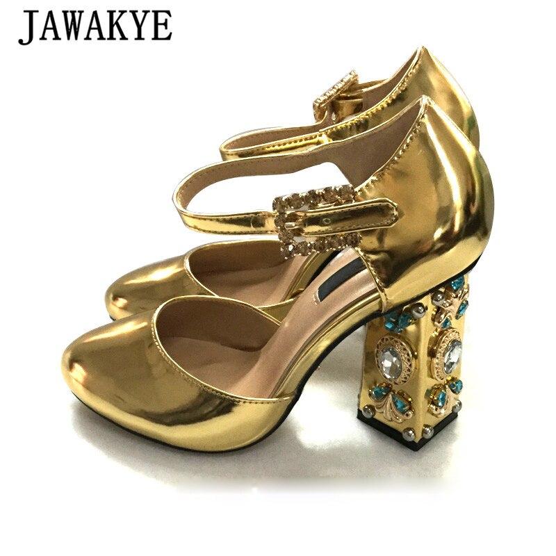 Silver Jewelled Heels
