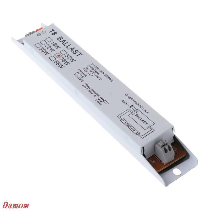220-240V AC 36W Широкое напряжение T8 электронный балласт люминесцентные балласты для ламп Xinp
