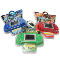 Colorful Retail Box Super Cheap Intelligence 2 Screen Child Color Display Handheld Game Consoles Game Player
