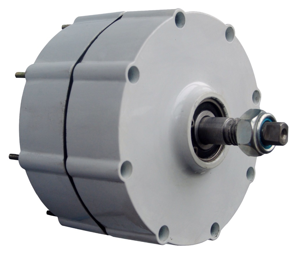 600 w 48 v Vento Generatore di Turbina A Bassa Velocità di Avvio NdFeB generatore a magnete permanente/guscio In Alluminio per il FAI DA TE