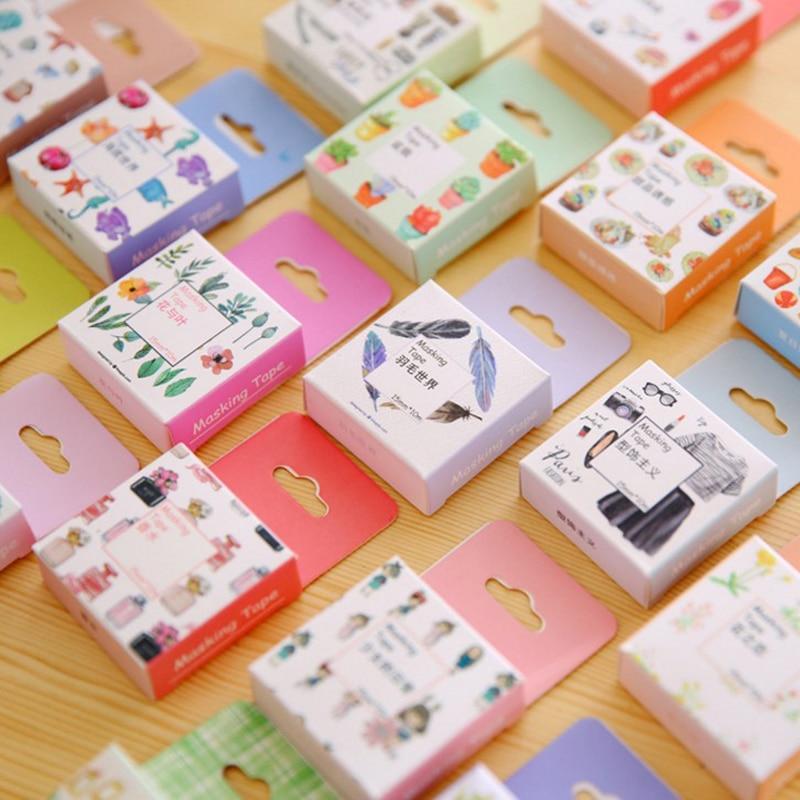 Japanese Washi Tape Decorative Scotch Tape Decorative Tapes Scrapbook Paper Masking Sticker Set Photo Album Washi Tape Set kitmmmc32helmetsfunv72220 value kit scotch nfl helmet tape dispenser mmmc32helmetsf and universal smooth paper clips unv72220