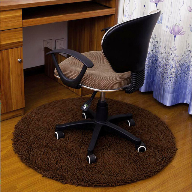 Hot Circular Water Absorption Floor Carpet Non Slip Round Mat Kitchen Door Office