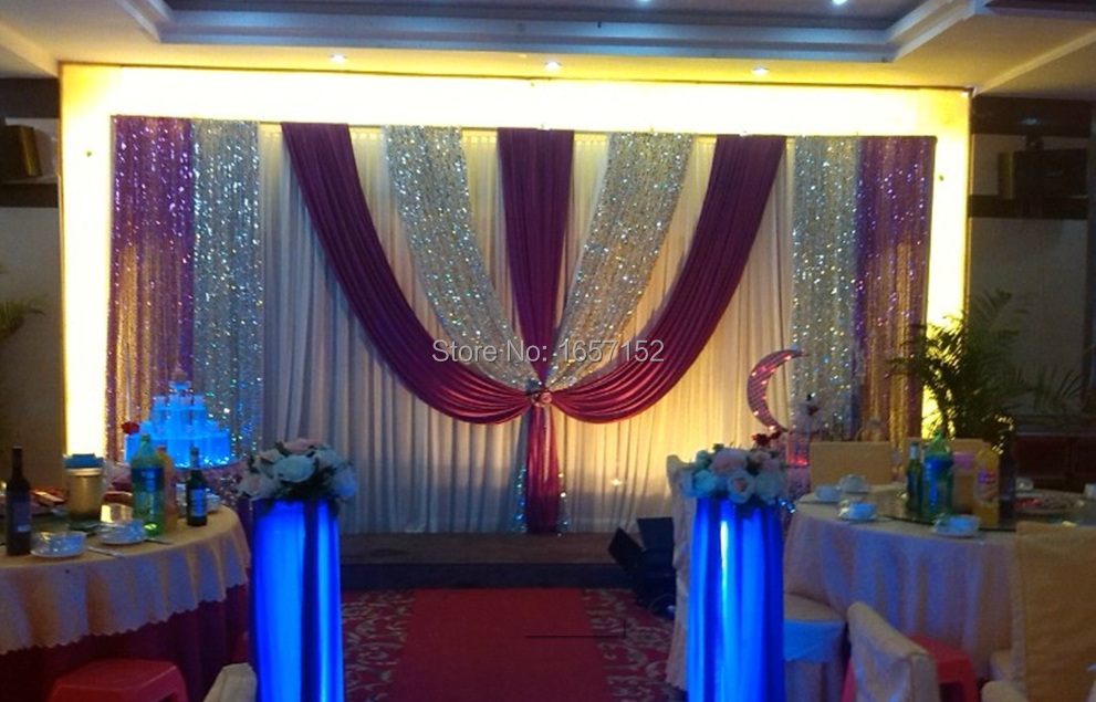 10ft20ft Deluxe Backdrop Wedding Backdrop For Wedding Decoration