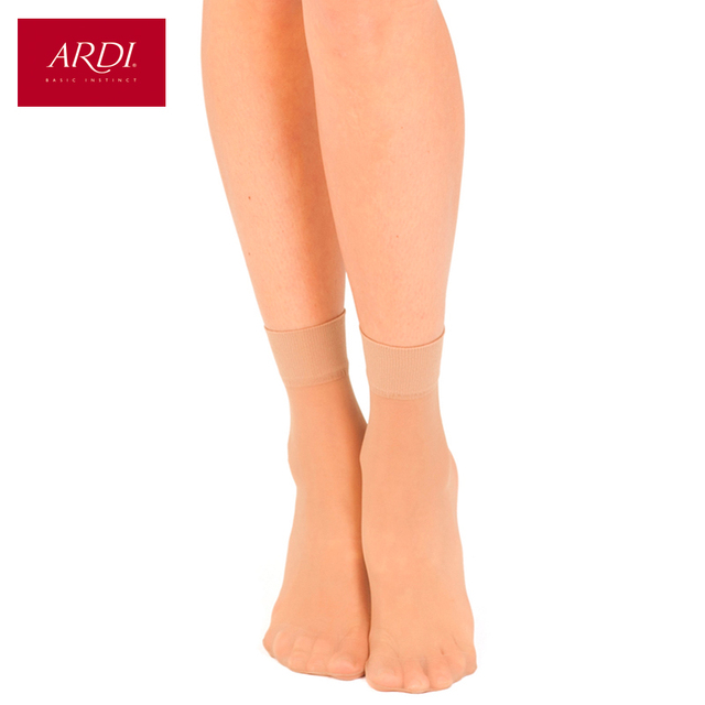 Socks transparent silky 20 den ARDI SOCQUETTES SOIE 20