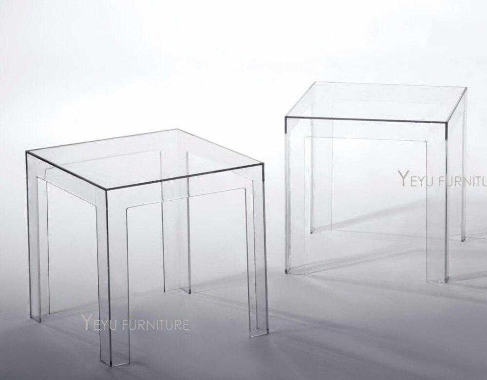 Aliexpress.com : Minimalistischen Modernen Design Transparentem  Polycarbonat PC Acryl Klar Platz Beistelltisch Couchtisch Teetisch