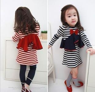 Best selling! Blue and red girls dress! fall spring Kids dress! Children Dress! beatifull! Great Quality!