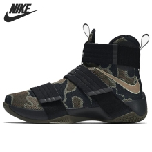 Original New Arrival 2016 font b NIKE b font Men s Camouflage Basketball Shoes Sneakers