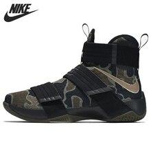 Original de la Nueva Llegada 2016 Camuflaje de Los Hombres Zapatos de Baloncesto Zapatillas de Deporte NIKE