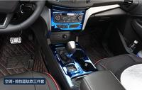 new For kuga 2017 stalls panel decoration interior air conditioning water cups patch in the control decoration