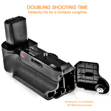 Vertical battery grip for Sony A6000