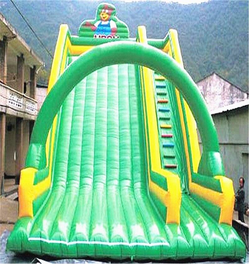 Ao ar livre inflável slide grande inflável slides para crianças
