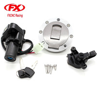 Motorcycle Ignition Switch Lock Gas Cap Lock Seat Lock With Keys For Yamaha XJR400 1993 1999 XJR1200 1995 1998 XJR1300 1999