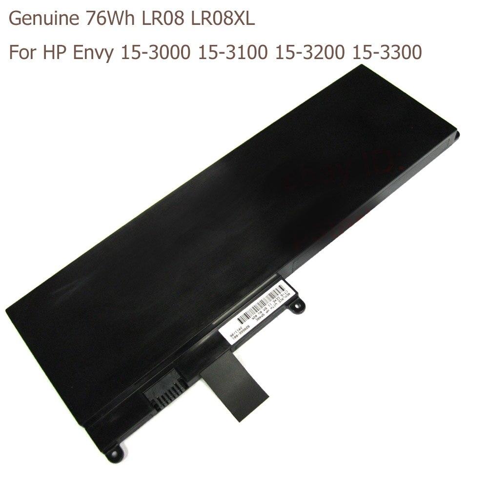 Genuine 76Wh LR08 LR08XL Battery For HP Envy 15-3000 15-3100 15-3200 15-3300 3